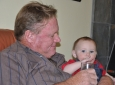 Teagan with Oupa
